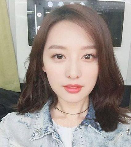 现在流行长发韩国发型颜色这8款中发型杨颖最爱图及头发女生图片