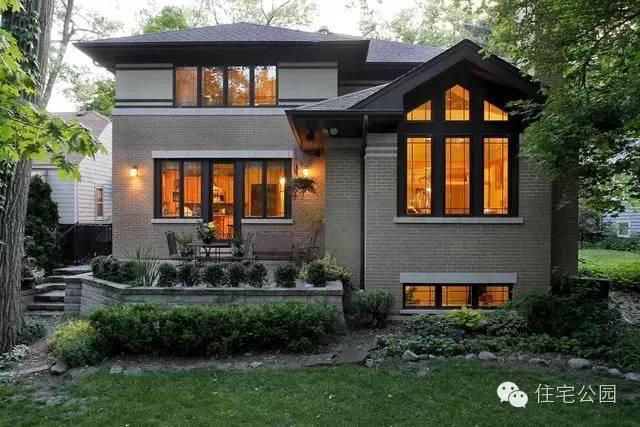 中国农村建房子也借鉴美式,欧式乡村别墅的外型和装修风格.图片