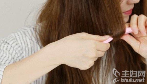 教你3种方法不用卷发棒也能diy卷发