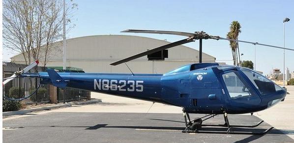 名符其实的空中跑车 恩斯特龙f280fx私人直升机