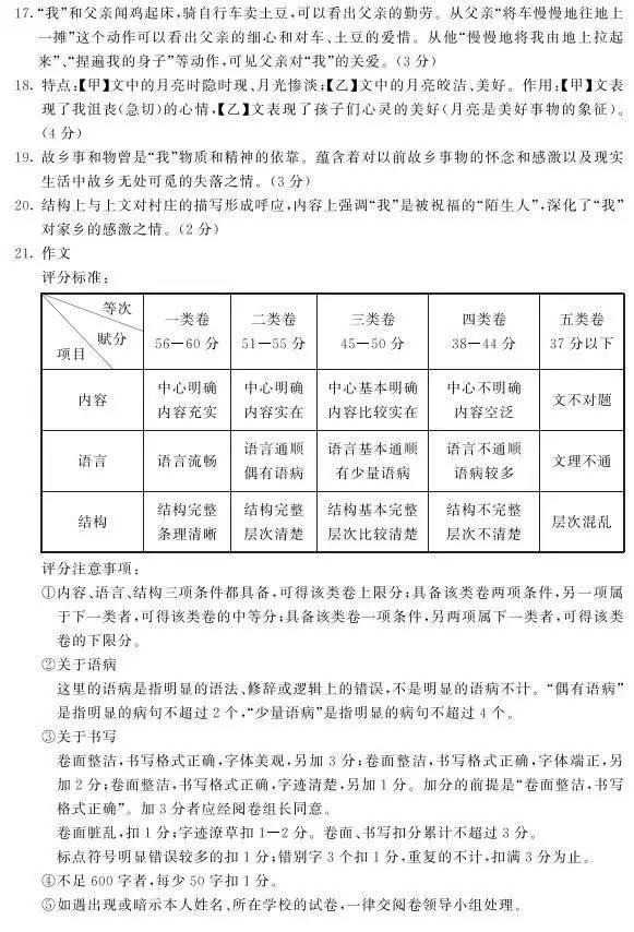 劲松上海南京中考试卷是约好的?看完苏州中考作文你得几分?苏州职业高中首页北京市图片