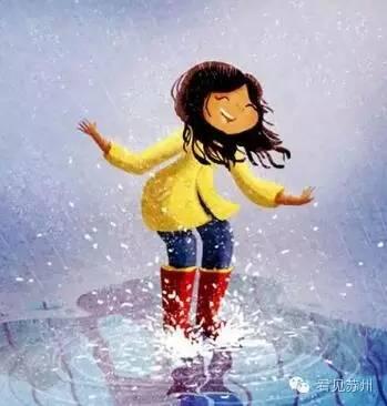 梅雨季,还记得小时候戏水的时光吗图片