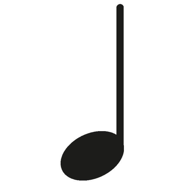 一张图学会音符的长短图片