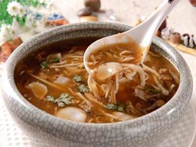味道独特的胡辣汤,西安特色小吃