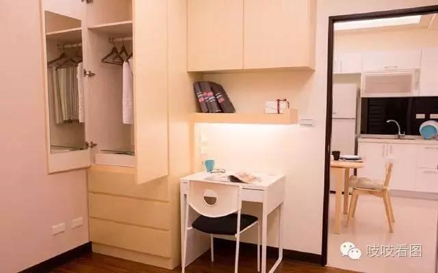 小空间,大格局,一个墙角立柜带来无限可能图片