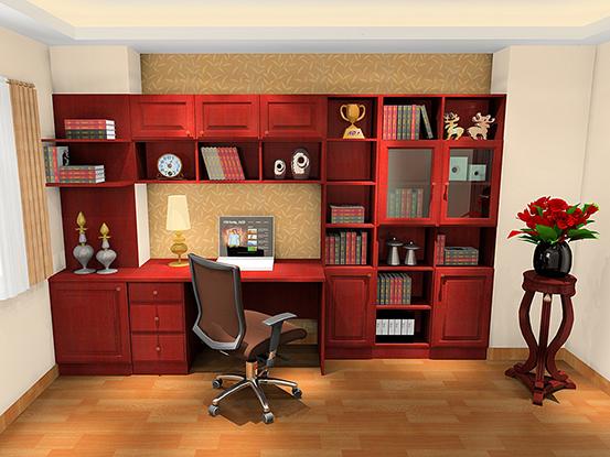 书房装修效果图小户型欣赏