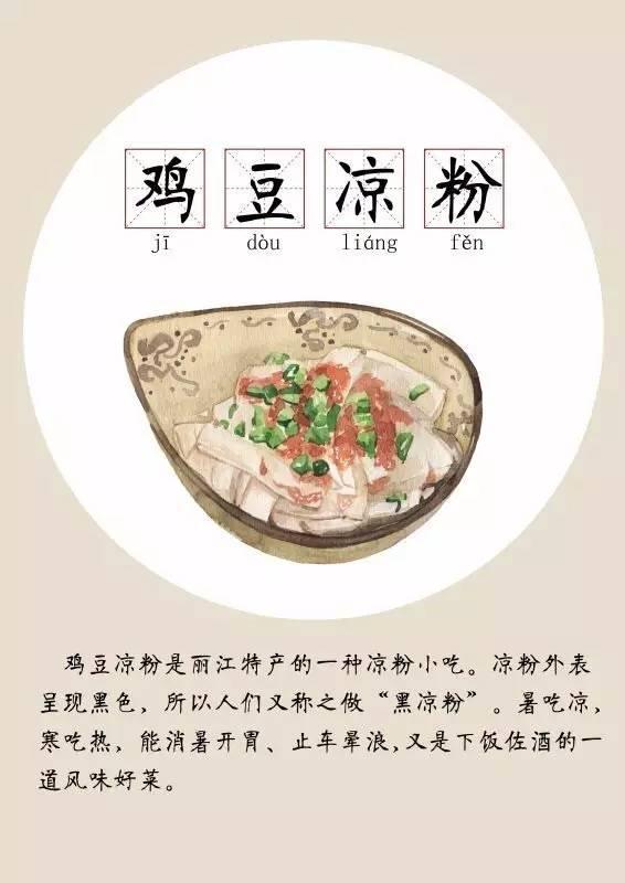 太有了!昆明美食美食手绘版:大理|云南|丽江…特色天府广场乎知图片