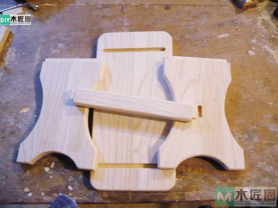 初学木工课,记述我做小板凳的制作步骤