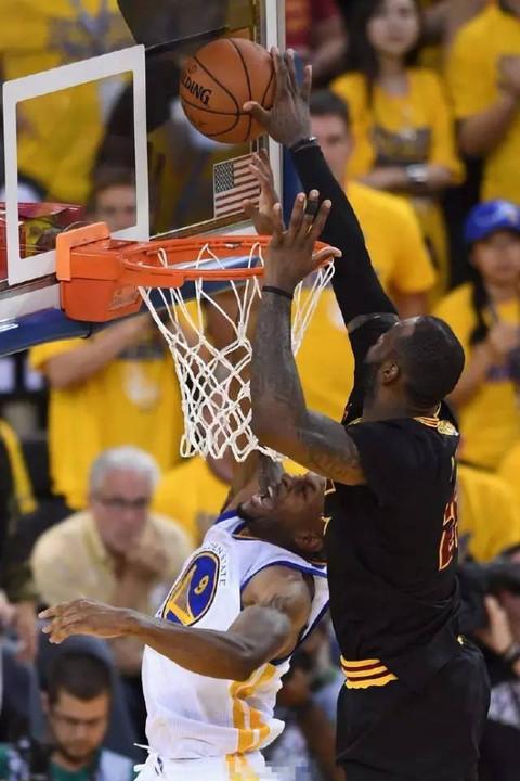 Blocked At The Ring Basketball