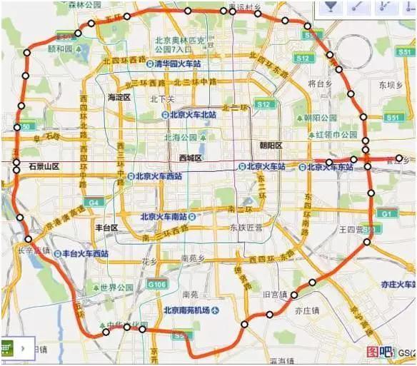 不是 大七环 是 首都地区环线高速