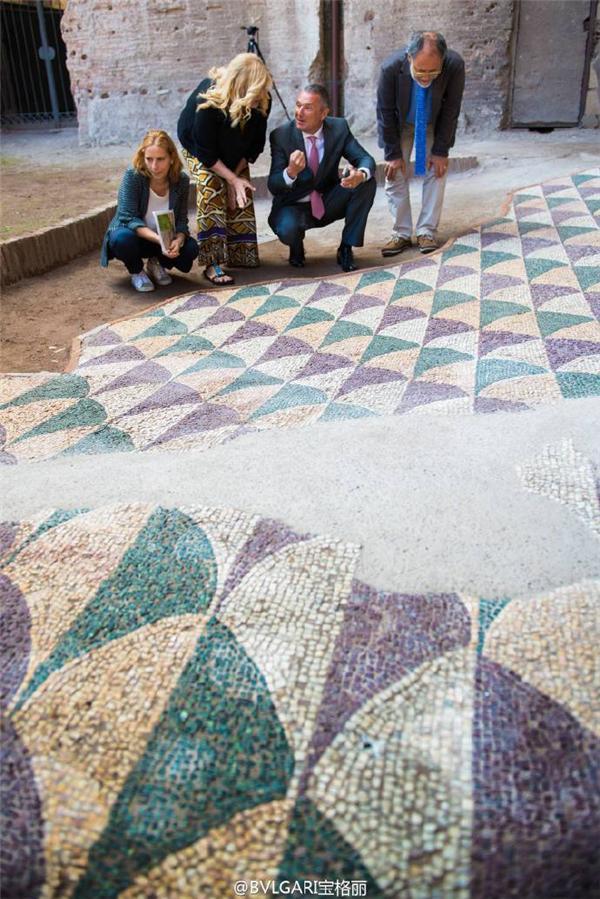 bvlgari宝格丽支持罗马卡拉卡拉浴场修缮工程