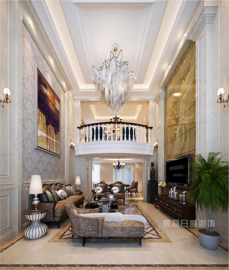 西安大户型-简欧风格客厅装修效果图赏析图片