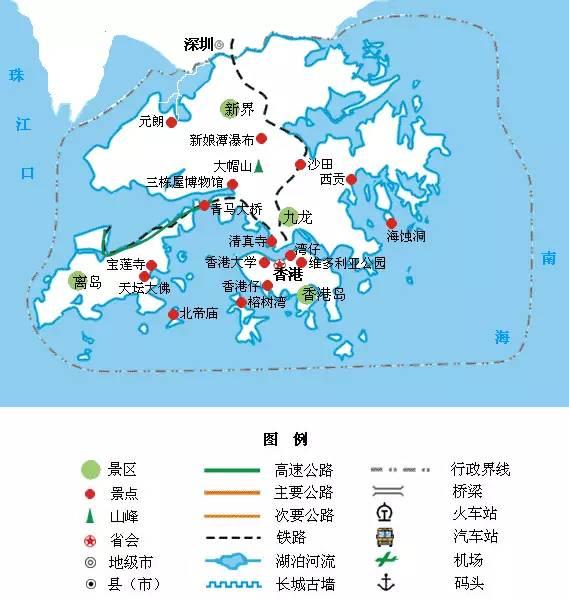 全国旅游地图精简版,徐州人放手机里太方便了!