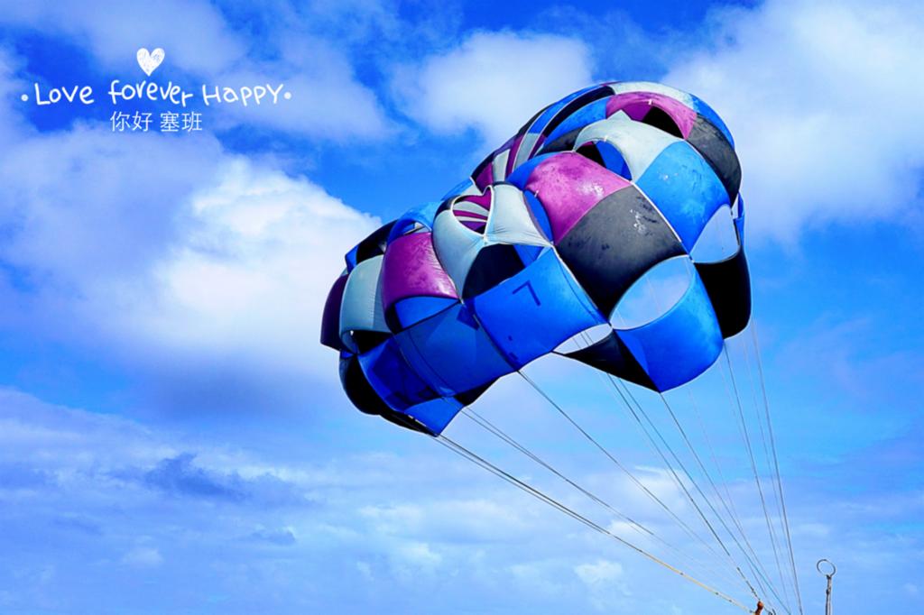 湛蓝的塞班岛 阳光沙滩比基尼