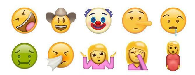 ios 10升级,emoji再添新表情,斗图专用!图片