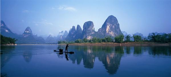 四,桂林—喀斯特地貌的最美盆景图片