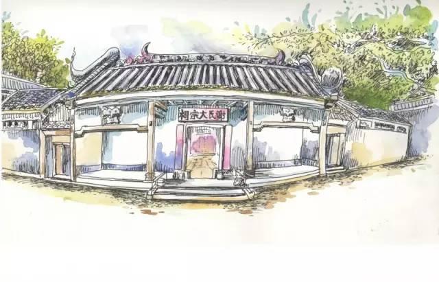 广州西关首份旧址手绘地图,熟悉吗?