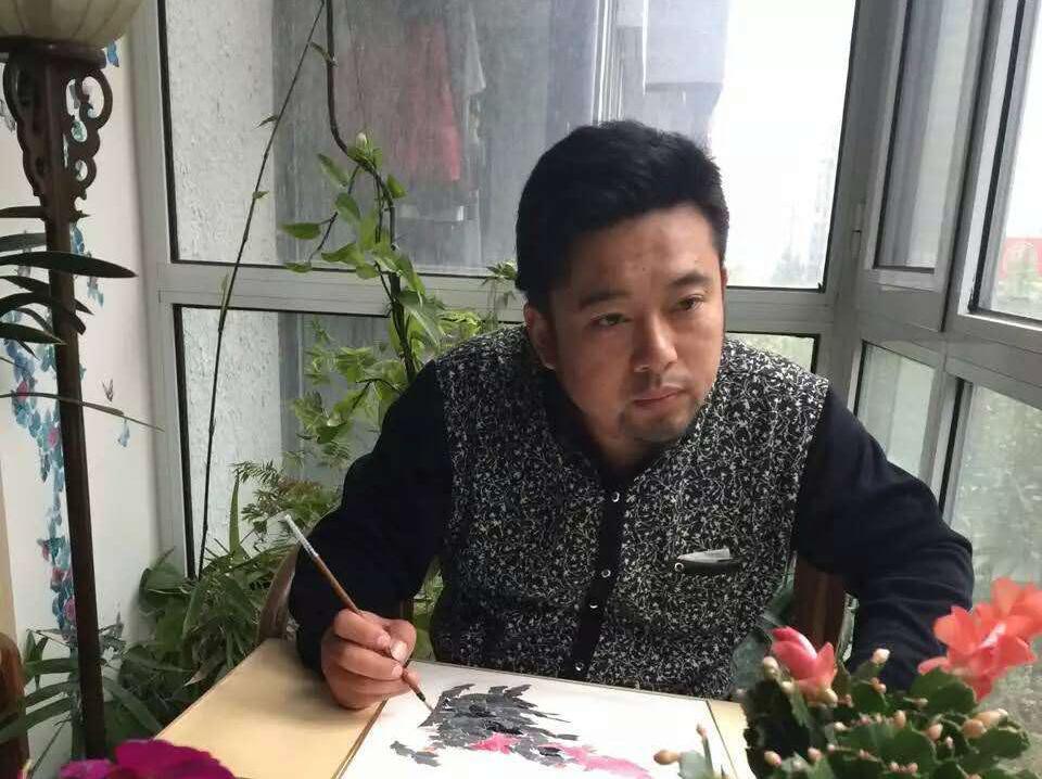 全国国画电视大奖赛冠军刘晓东作品赏析图片