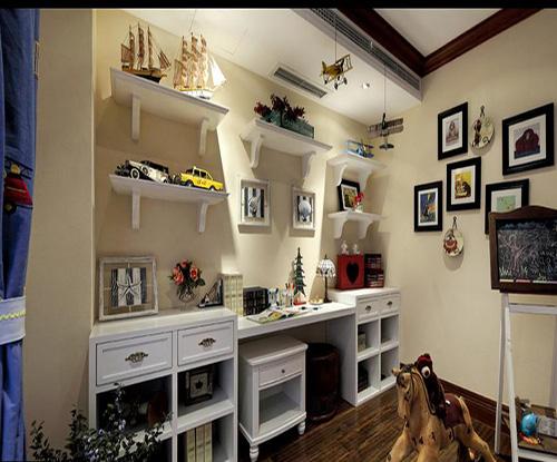 卡通书房图片欣赏 让您给孩子更漂亮的家