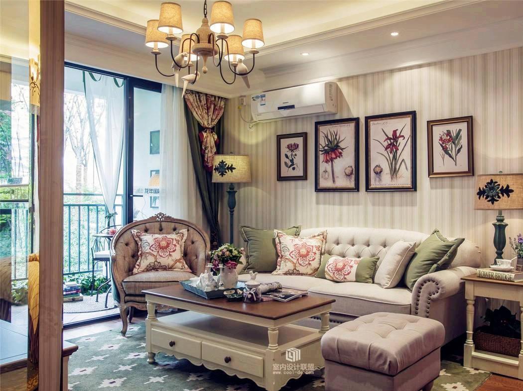 美式乡村的窗帘搭配,低调奢华有内涵!图片