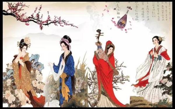 中国古代四大美女并非西施貂蝉王昭君杨玉环