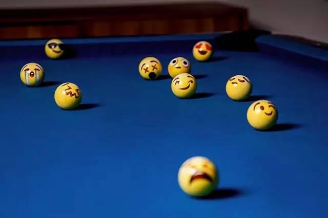 emoji表情台球,一杆进洞,我笑出了八块腹肌!图片