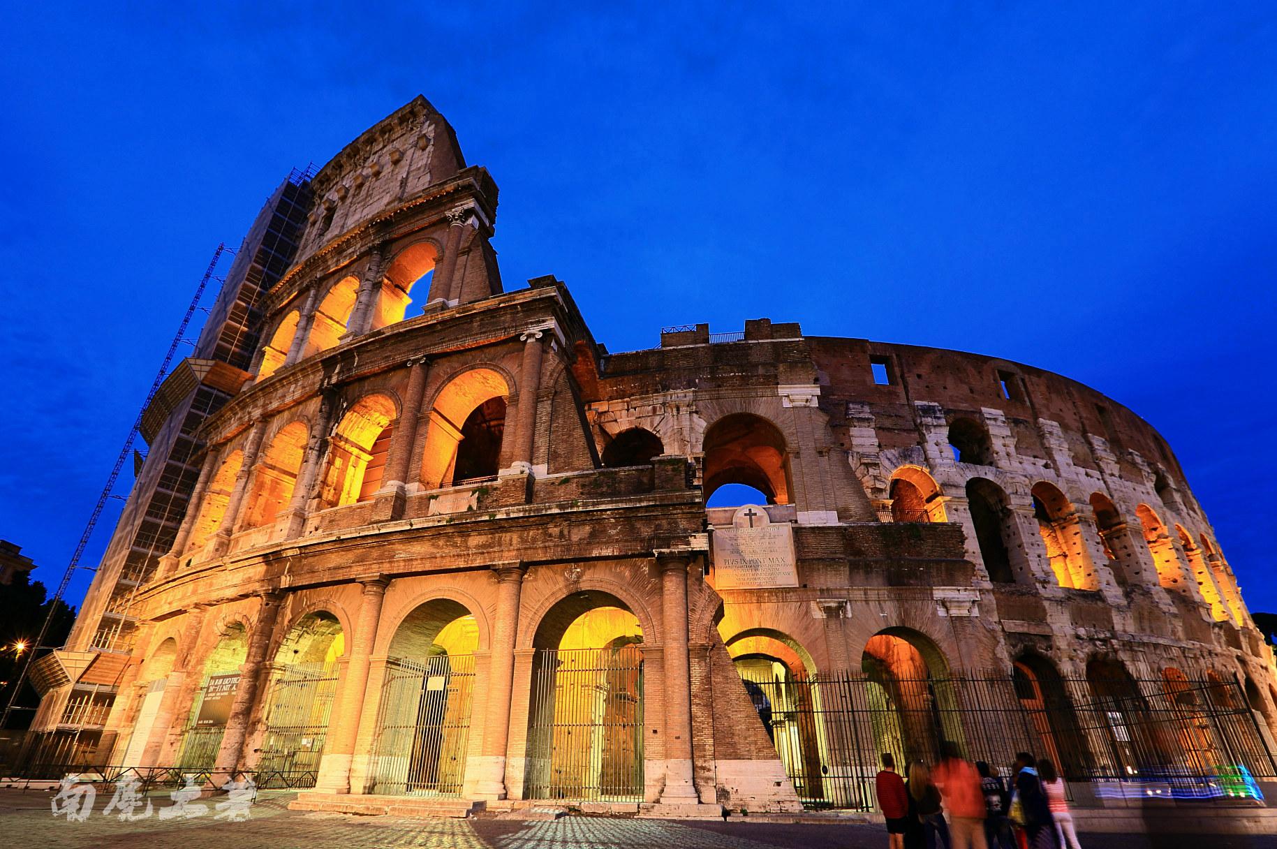 从竞技场看古罗马的历史有多么厚重