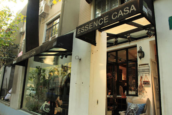 欧美复古风服装店装修效果图图片
