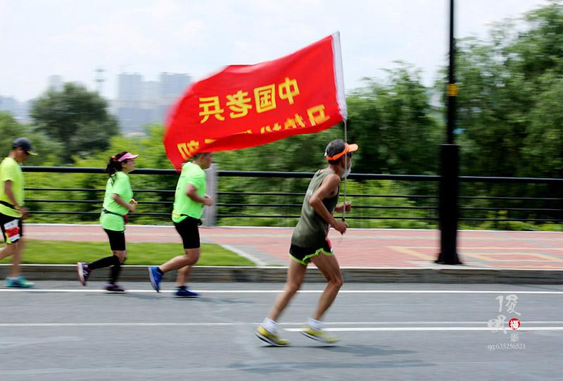 动感追拍 直击吉林国际马拉松