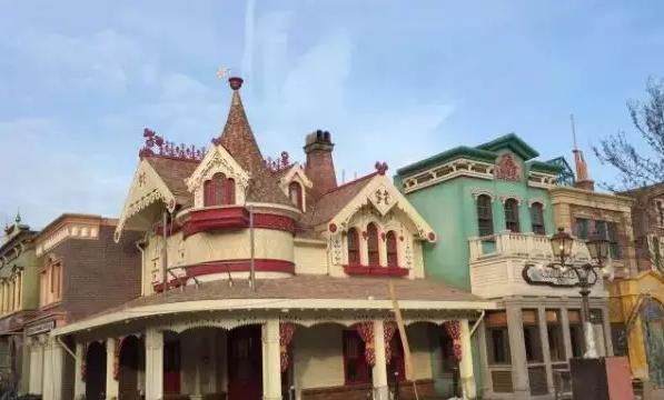 欧式古典房子 迪士尼动画