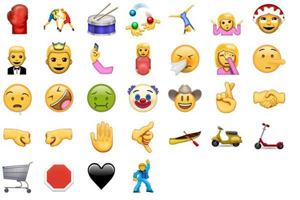 苹果新版魔性Emoji 微信斗图新境界!
