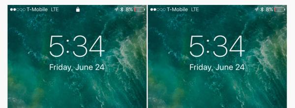 ios10锁屏界面详解,这次大不相同图片