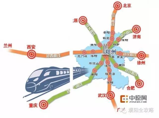 郑济高铁环评第二次公示 详细线路图出炉