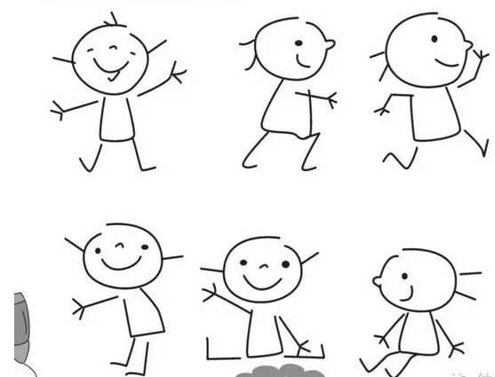 最简单有趣的简笔画,留着有空教孩子画