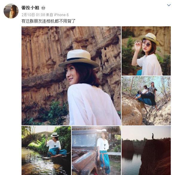 陈赫前妻许婧太潇洒,看她的微博就是看世界