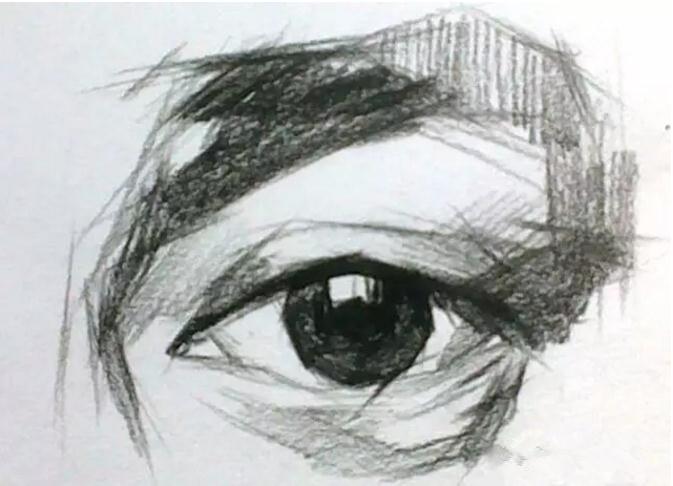 小教程 局部眼睛的详细讲解图片