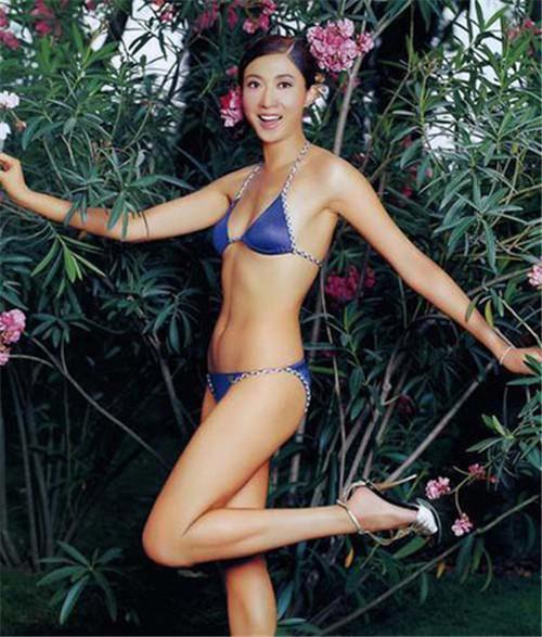 吴绮莉15年前用惊艳身材诱惑了成龙 - 落雪是花 - 落雪是花