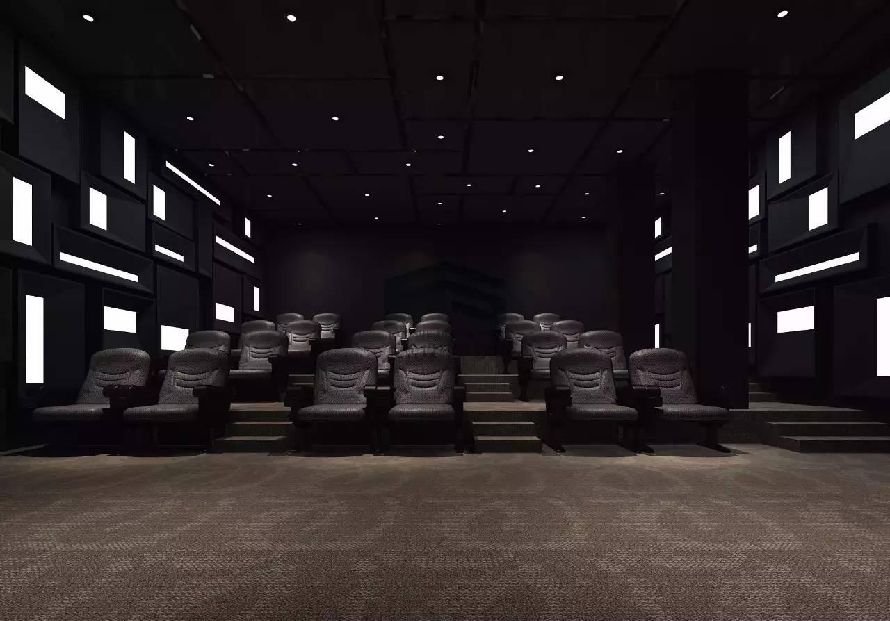 奥斯卡影院_4000平奥斯卡电影院设计 - 郑州梵舍设计