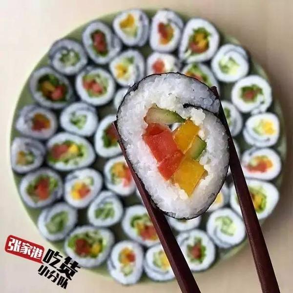 水果寿司-吃素的人可以算吃货吗 看完我就震惊了图片