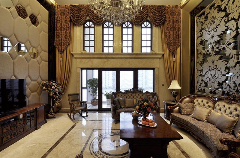 昆明欧式客厅装修效果图