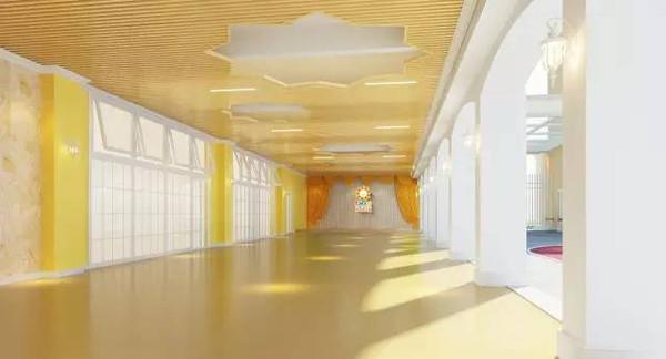 采用简约的欧式学院装修风格