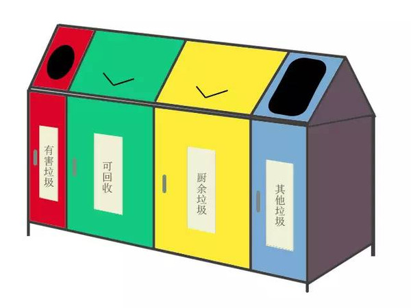 垃圾桶创意设计大赛暨垃圾分类图标设计大赛喊你投票啦!图片