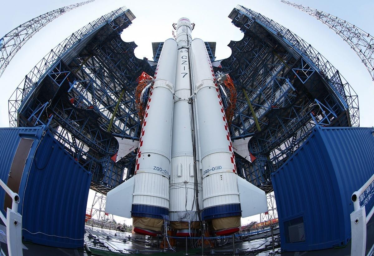 神舟五号-长征七号发射在即 新一代运载火箭新在哪 中国数字科技馆