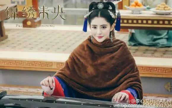 古代李未央手绘图王妃