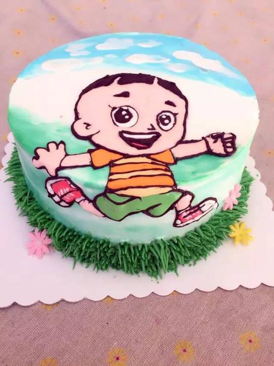 本期我们来学手绘蛋糕!