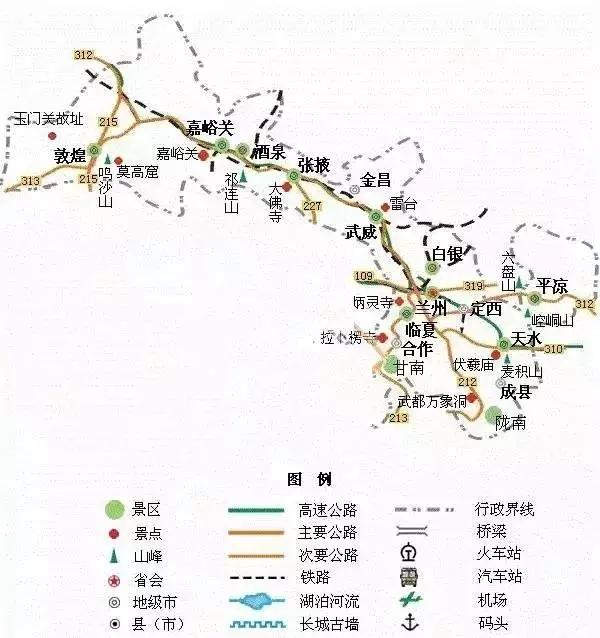 广东旅游地图