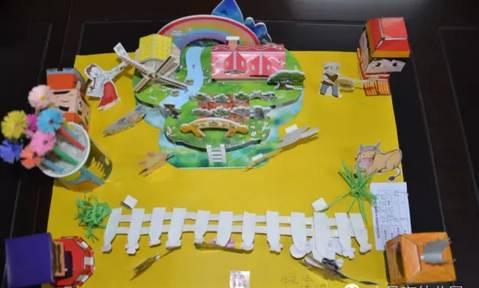 市幼儿园小朋友创意手工作品展 太有创意了