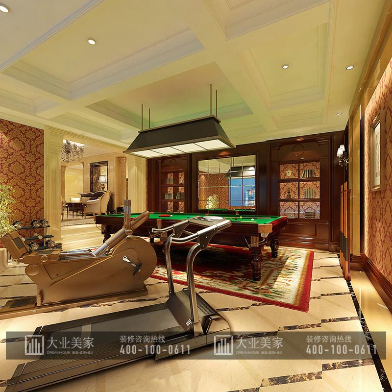 北辰红橡墅515平米欧式古典风格别墅装修效果图案例