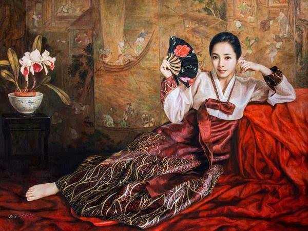 活色生香的朝鲜美术:走向历史的画笔图片