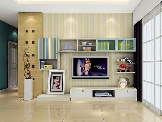客厅电视背景墙效果图大全2016图片